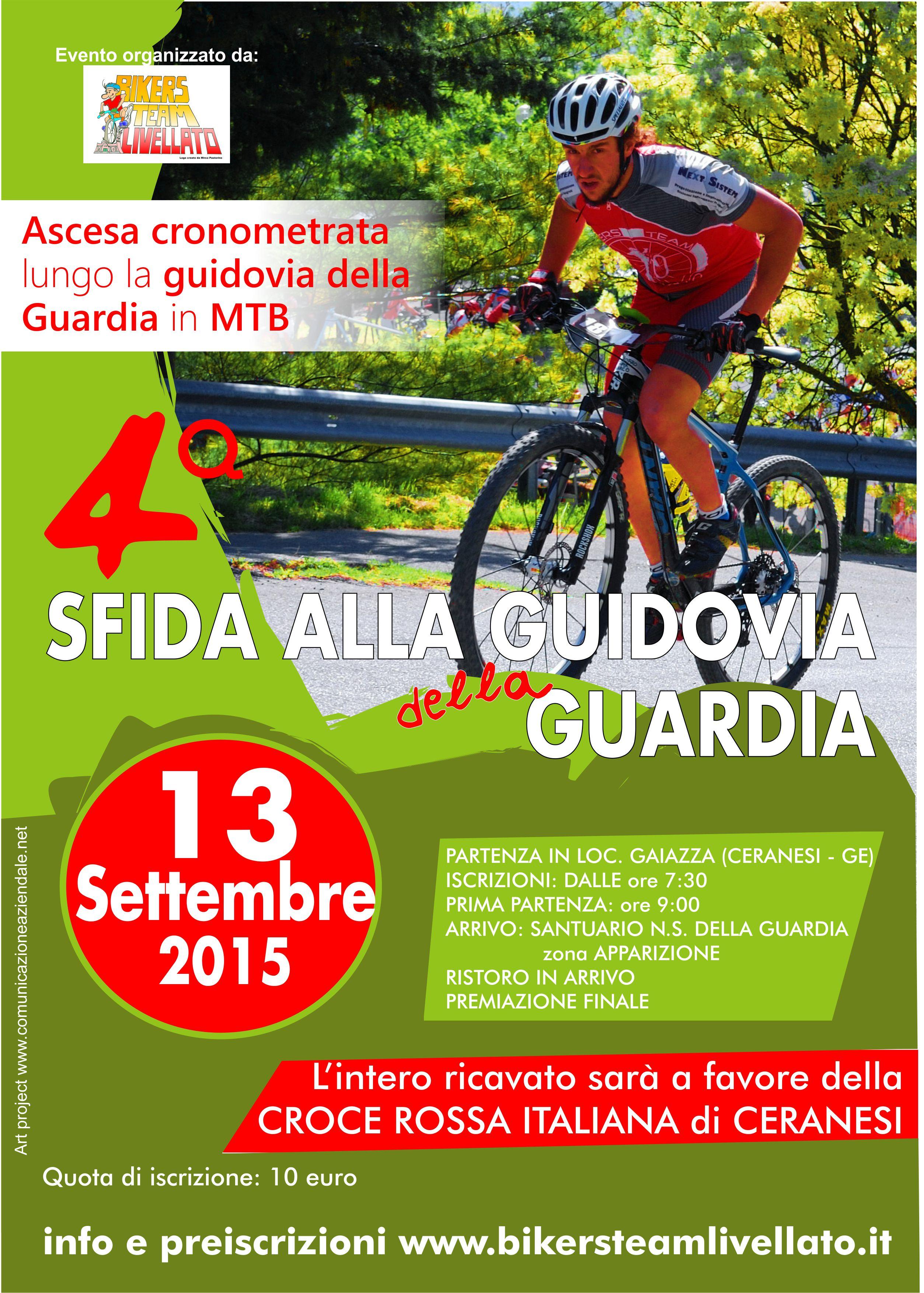 Sfida alla Guidovia della Guardia (Genova)