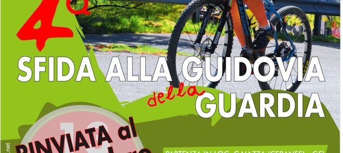 Nuova data per la Sfida alla Guidovia della Guardia (Genova)