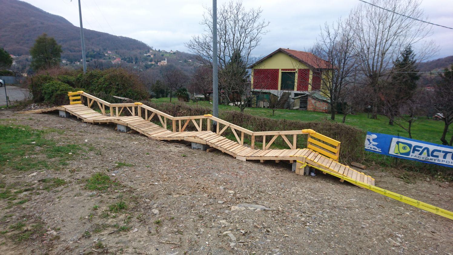 Abbiamo rinnovato il campo scuola di Liguria MTB