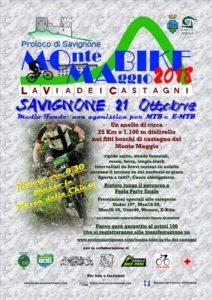 La via dei Castagni – 21 Ottobre 2018 a Savignone